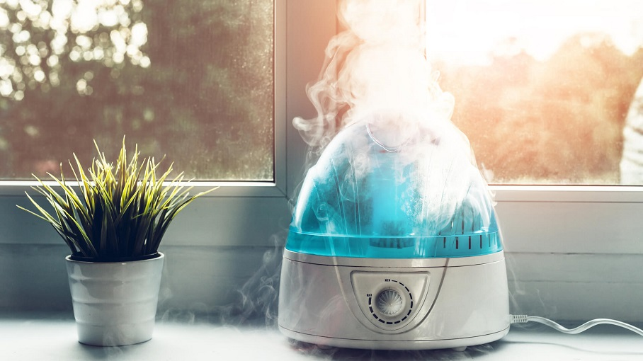 using a humidifier